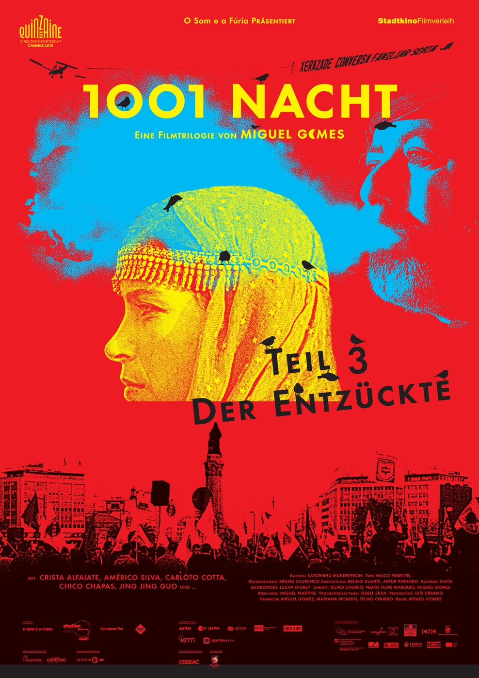 1001 Nacht - Teil 3: Der Entzückte (Poster)