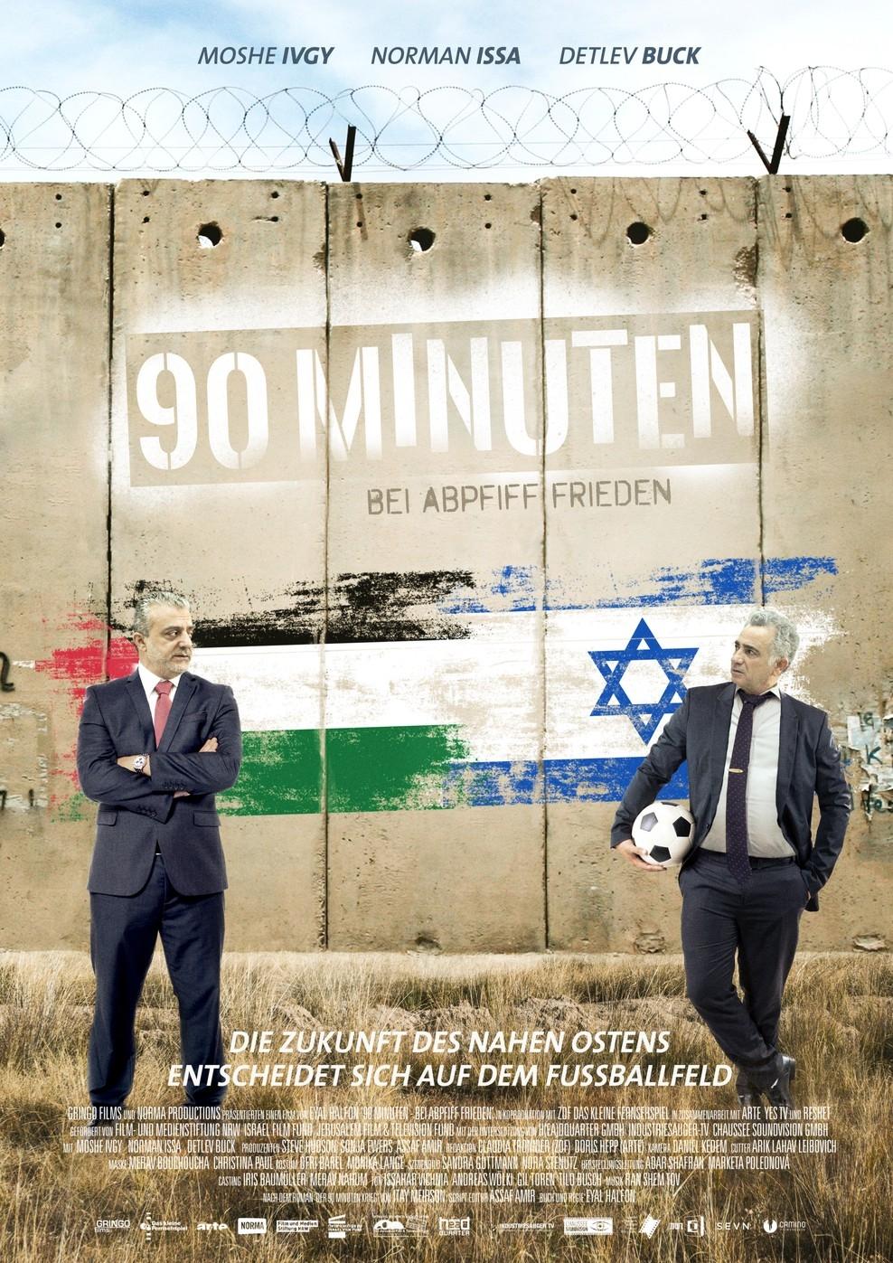 90 Minuten - Bei Abpfiff Frieden (Poster)