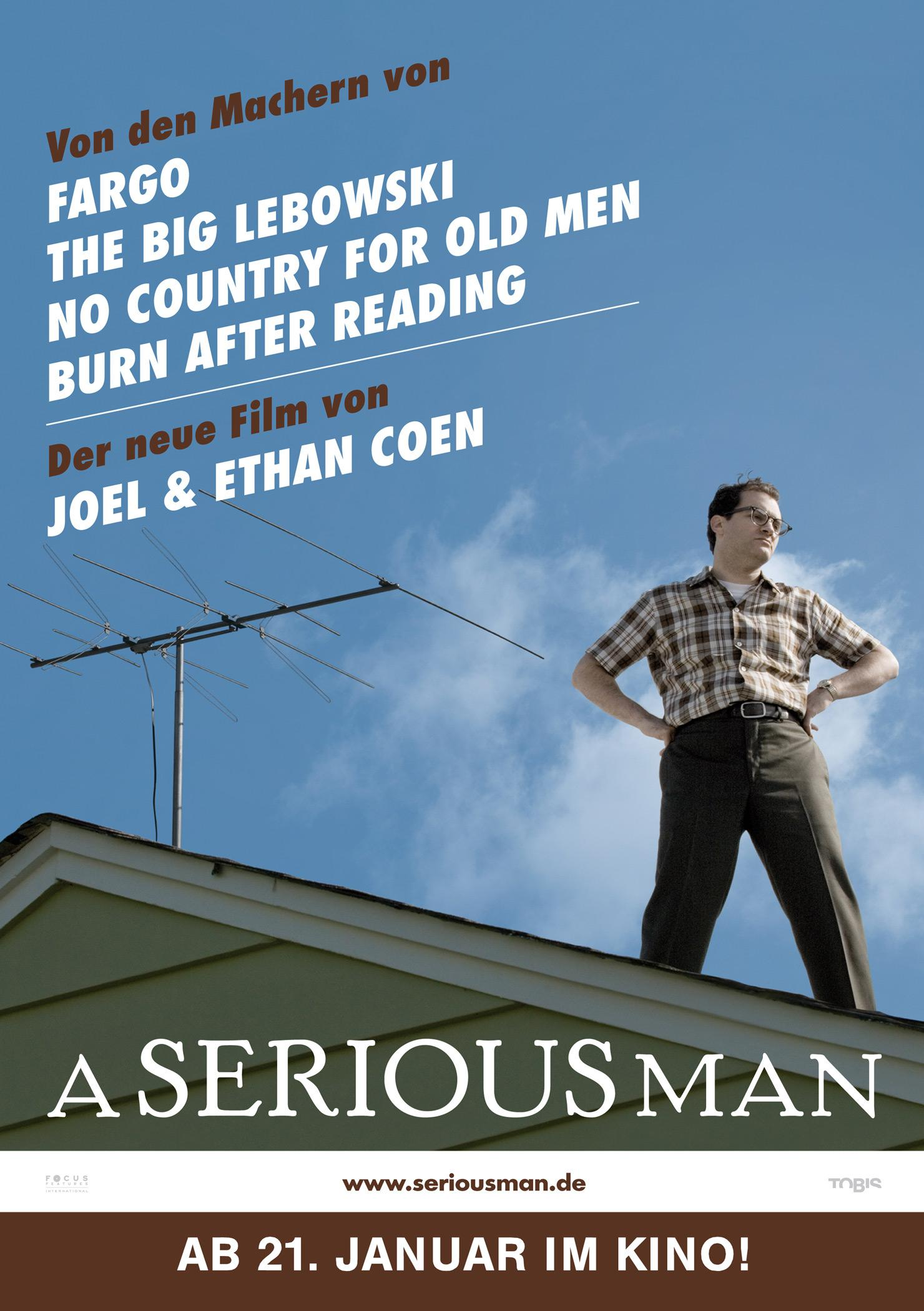 A Serious Man (Poster)