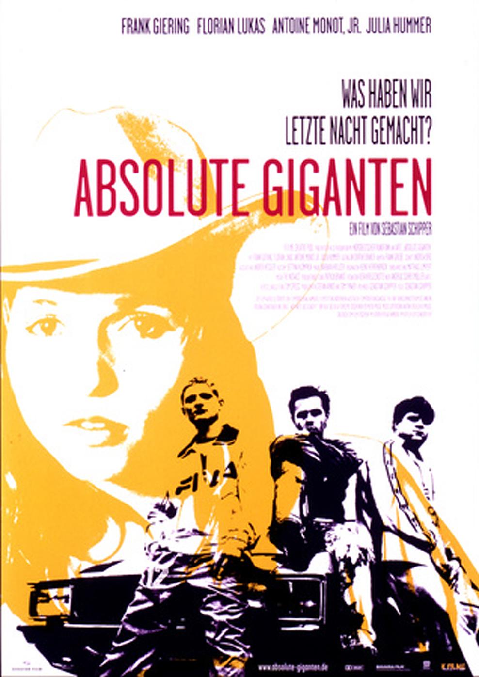 Absolute Giganten (Poster)