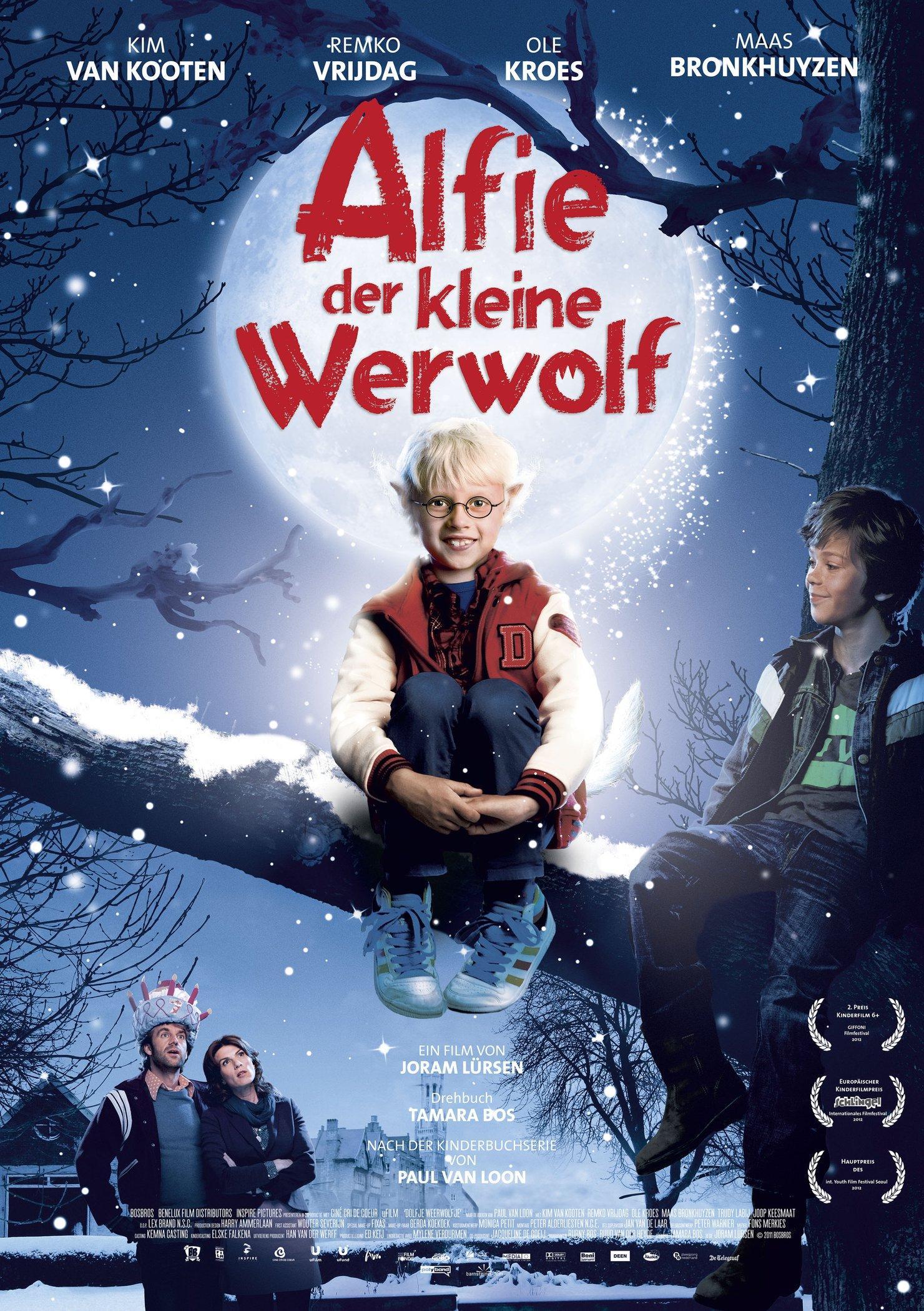 Alfie, der kleine Werwolf (Poster)