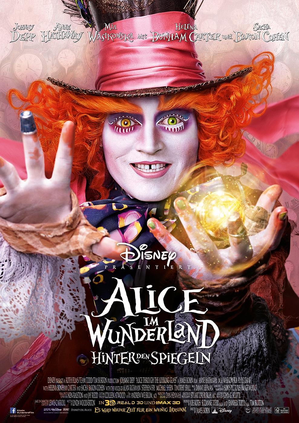 Alice im Wunderland: Hinter den Spiegeln (Poster)