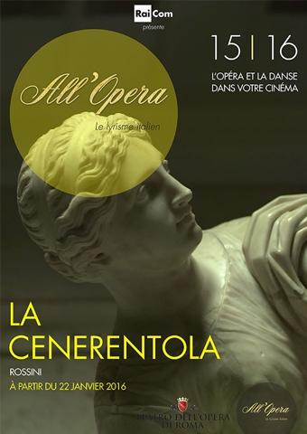 All Opera 2015/2016: La Cenerentola (Rossini) - Opera di Roma (Poster)