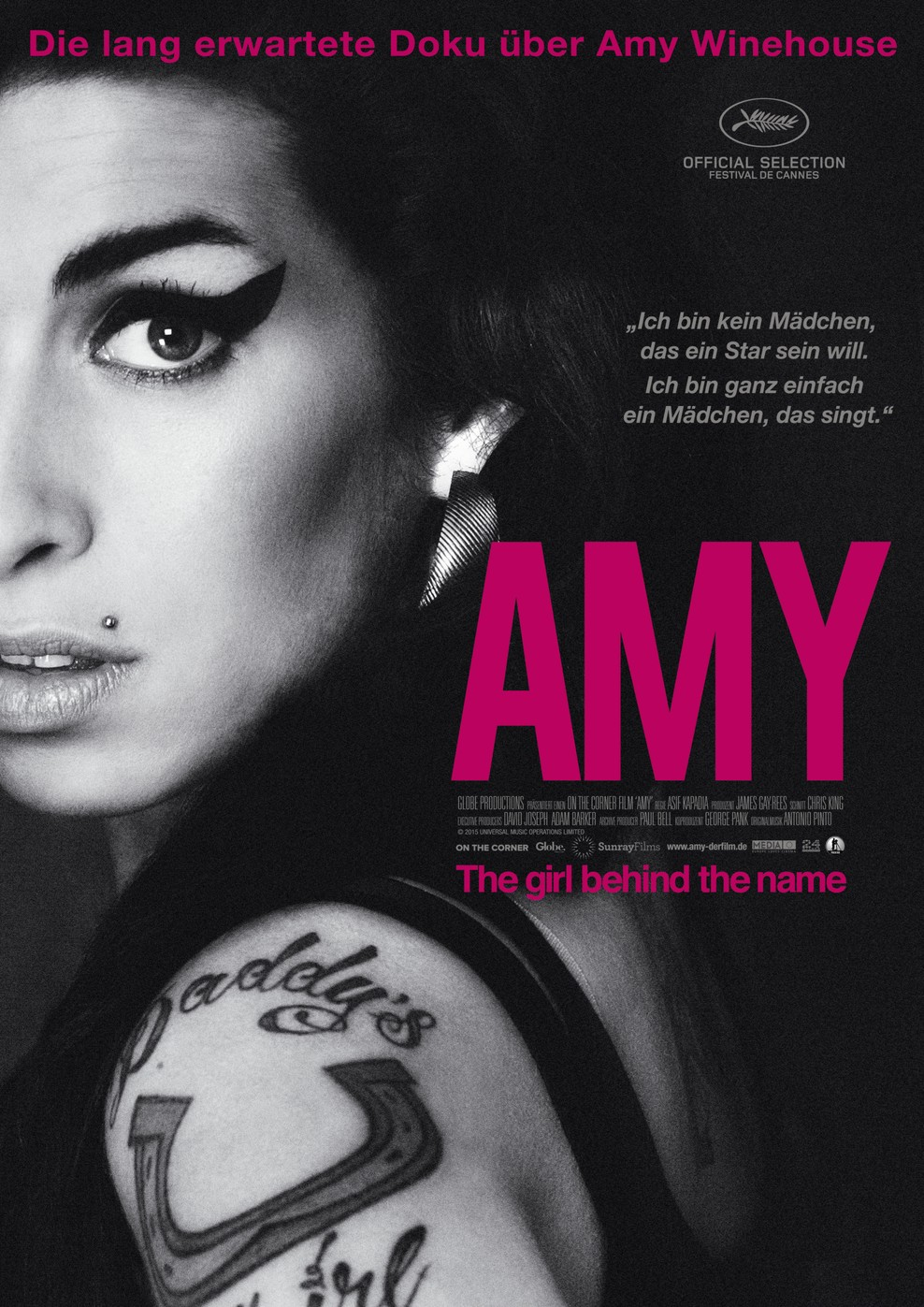 Amy - The Girl Behind the Name (Poster)