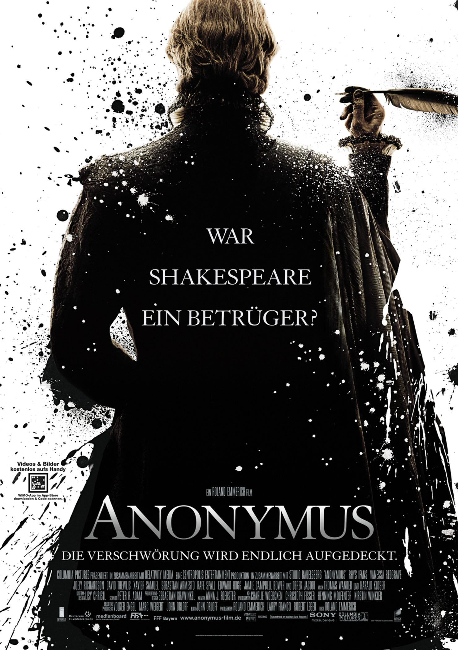 Anonymus (Poster)