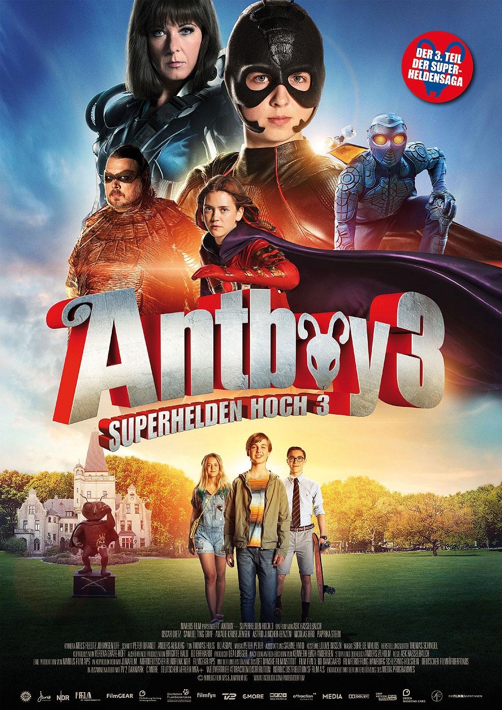 Antboy - Superhelden hoch 3 (Poster)