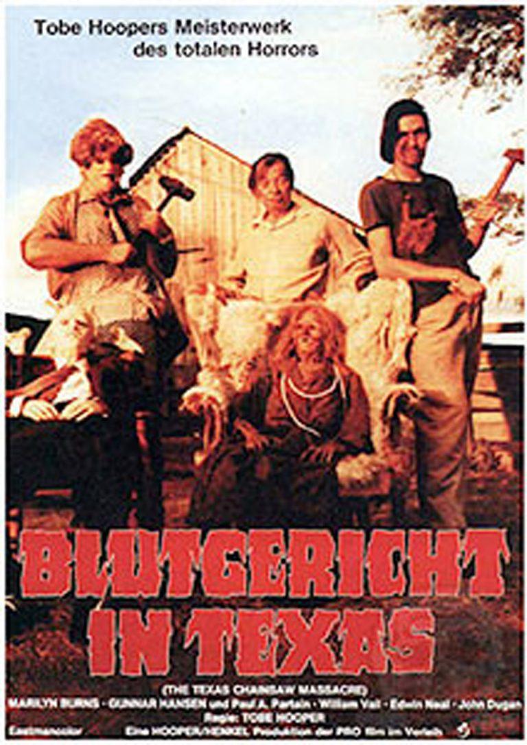 Blutgericht in Texas (Poster)
