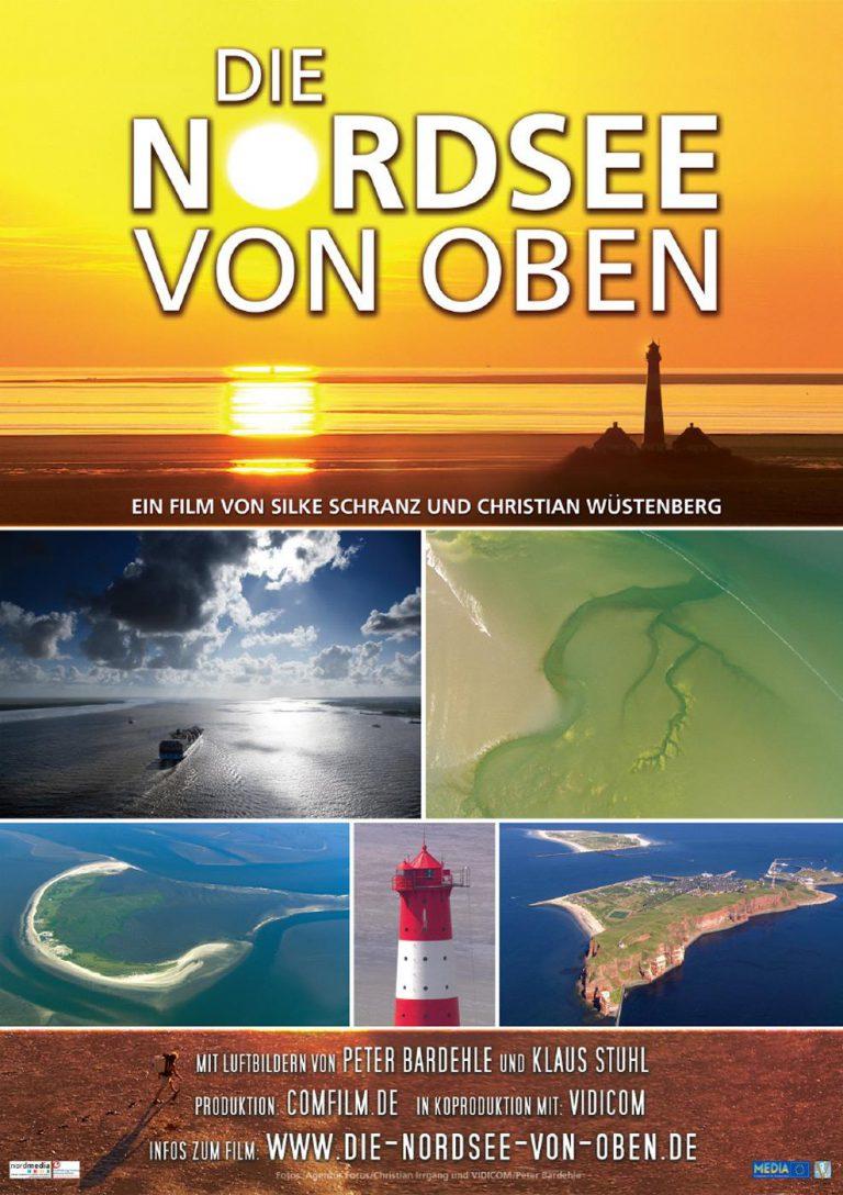 Die Nordsee von oben (Poster)