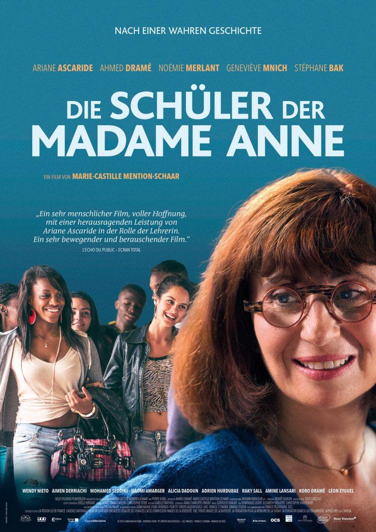 Die Schüler der Madame Anne (Poster)