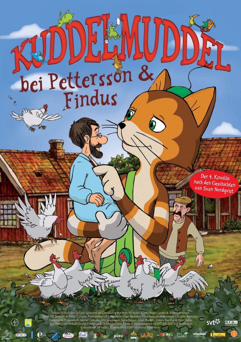 Kuddelmuddel bei Pettersson & Findus (Poster)