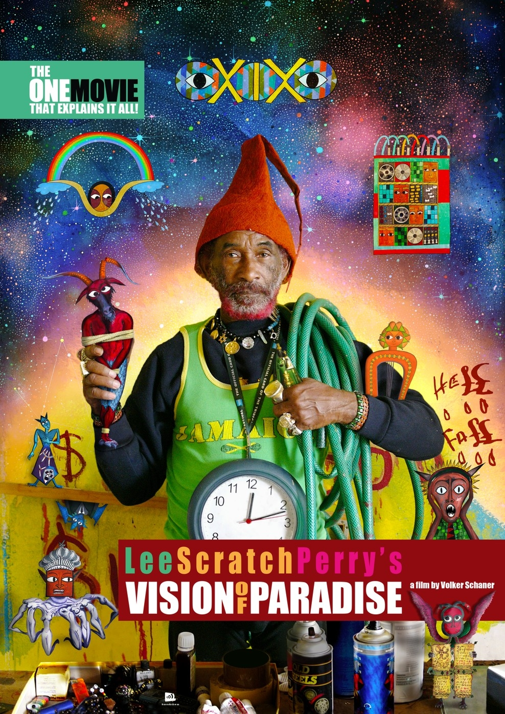 Lee Scratch Perry's Vision of Paradise (Poster)