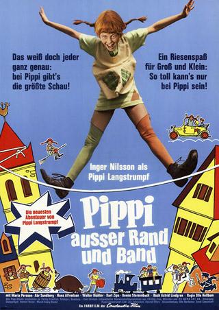 Pippi außer Rand und Band (Poster)