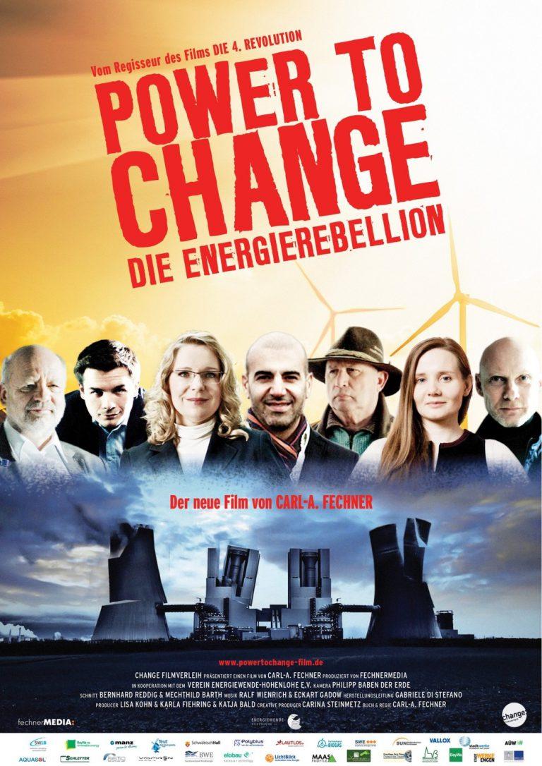 Power to Change - Die EnergieRebellion (Poster)