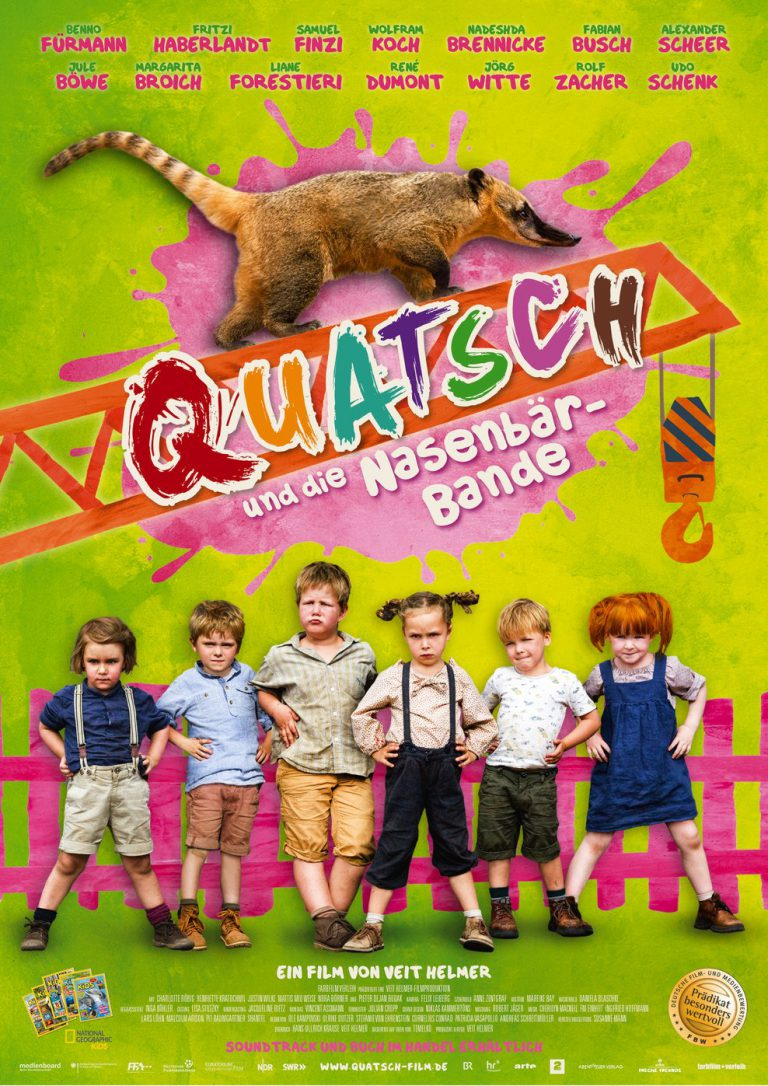 QUATSCH - und die Nasenbärbande (Poster)