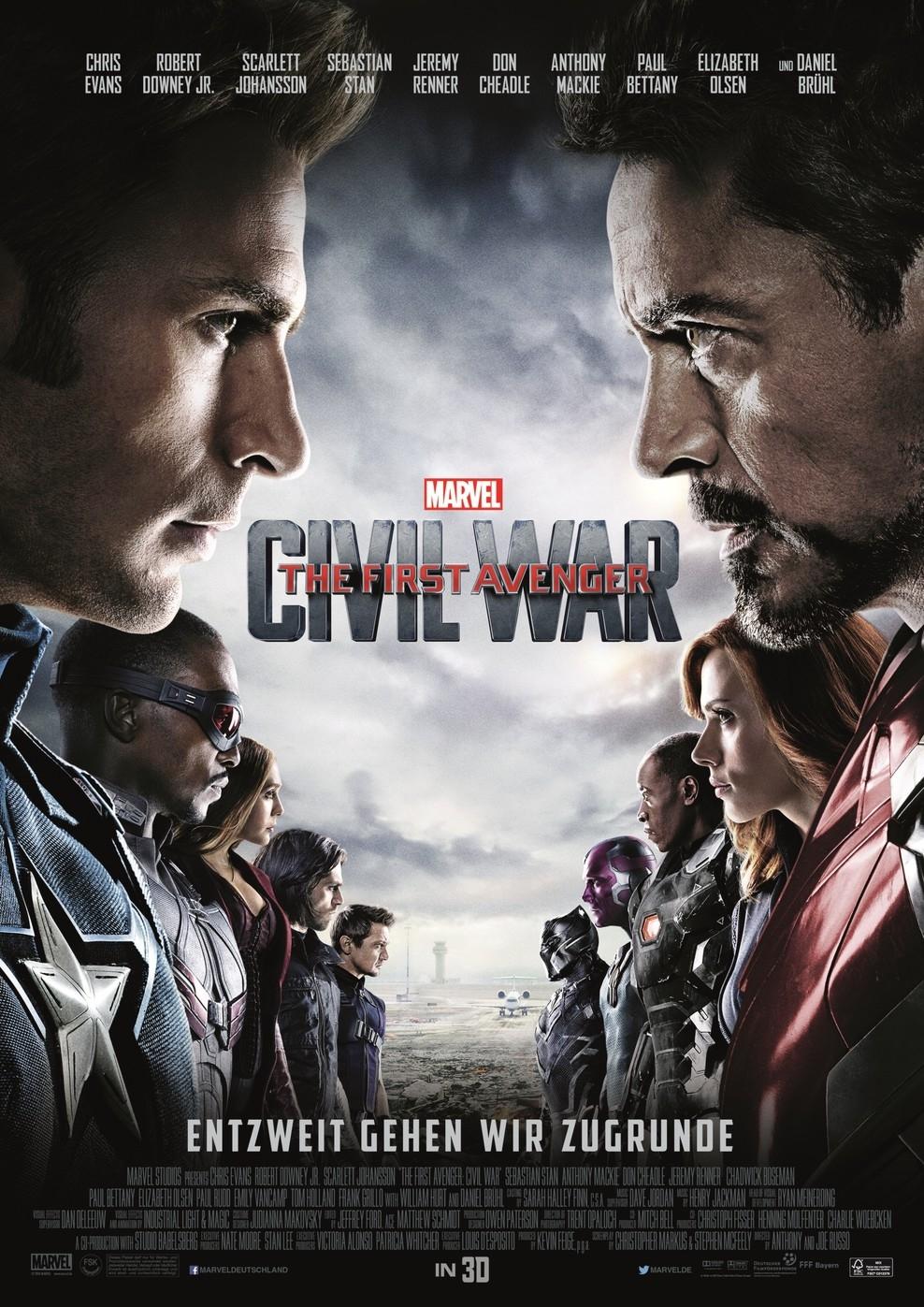 The First Avenger: Civil War (Poster)