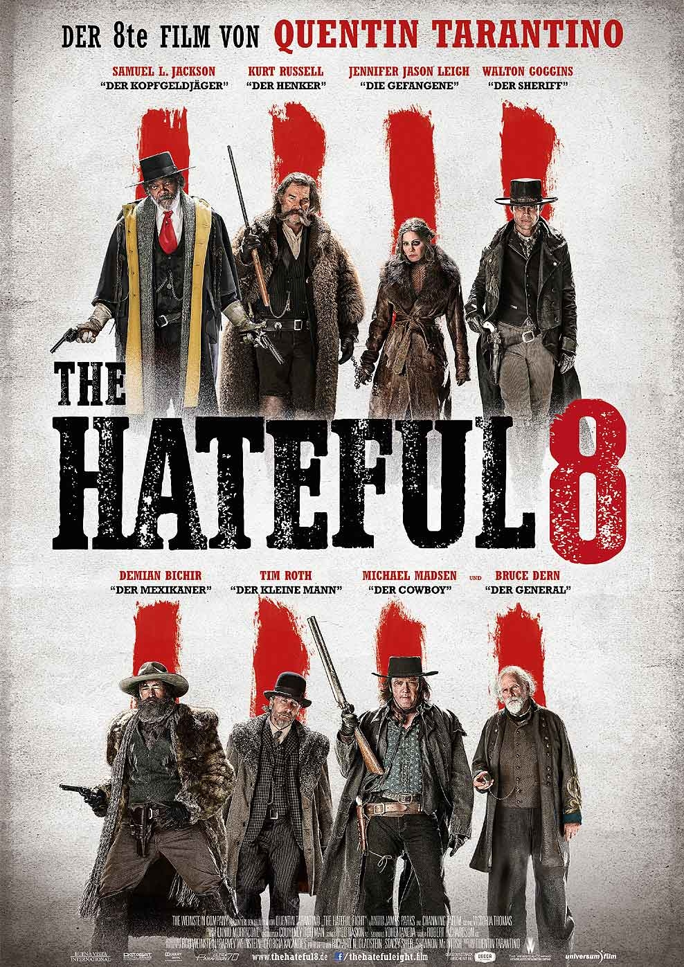 The Hateful 8 (Poster)