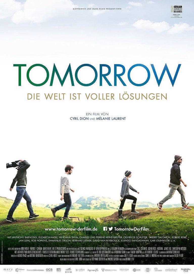 Tomorrow - Die Welt ist voller Lösungen (Poster)
