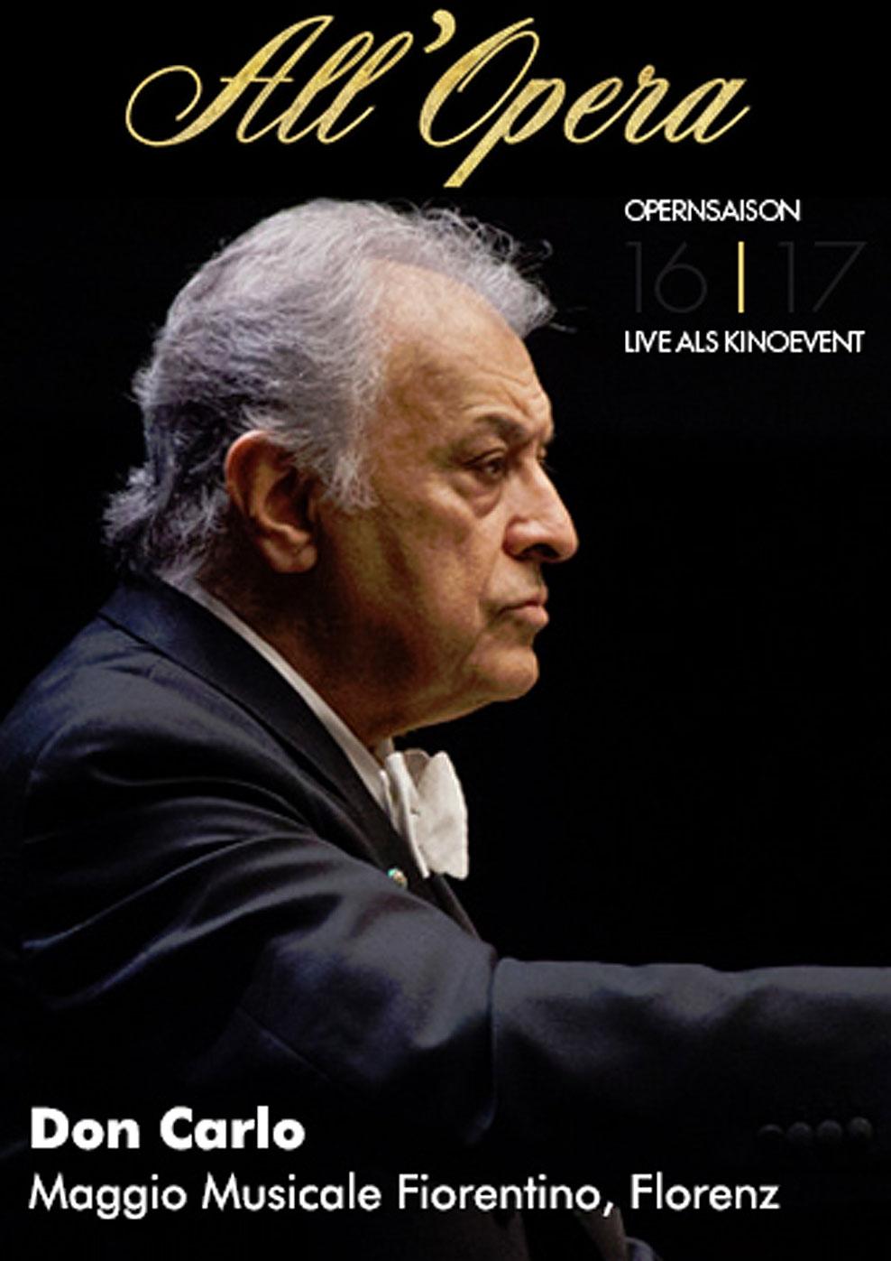 All Opera 16/17: Don Carlo (Live) (Poster)