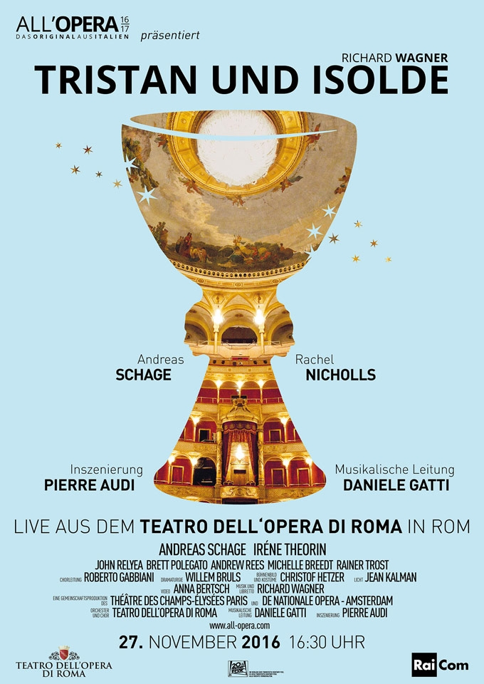 All Opera 16/17: Tristan und Isolde (Live) (Poster)