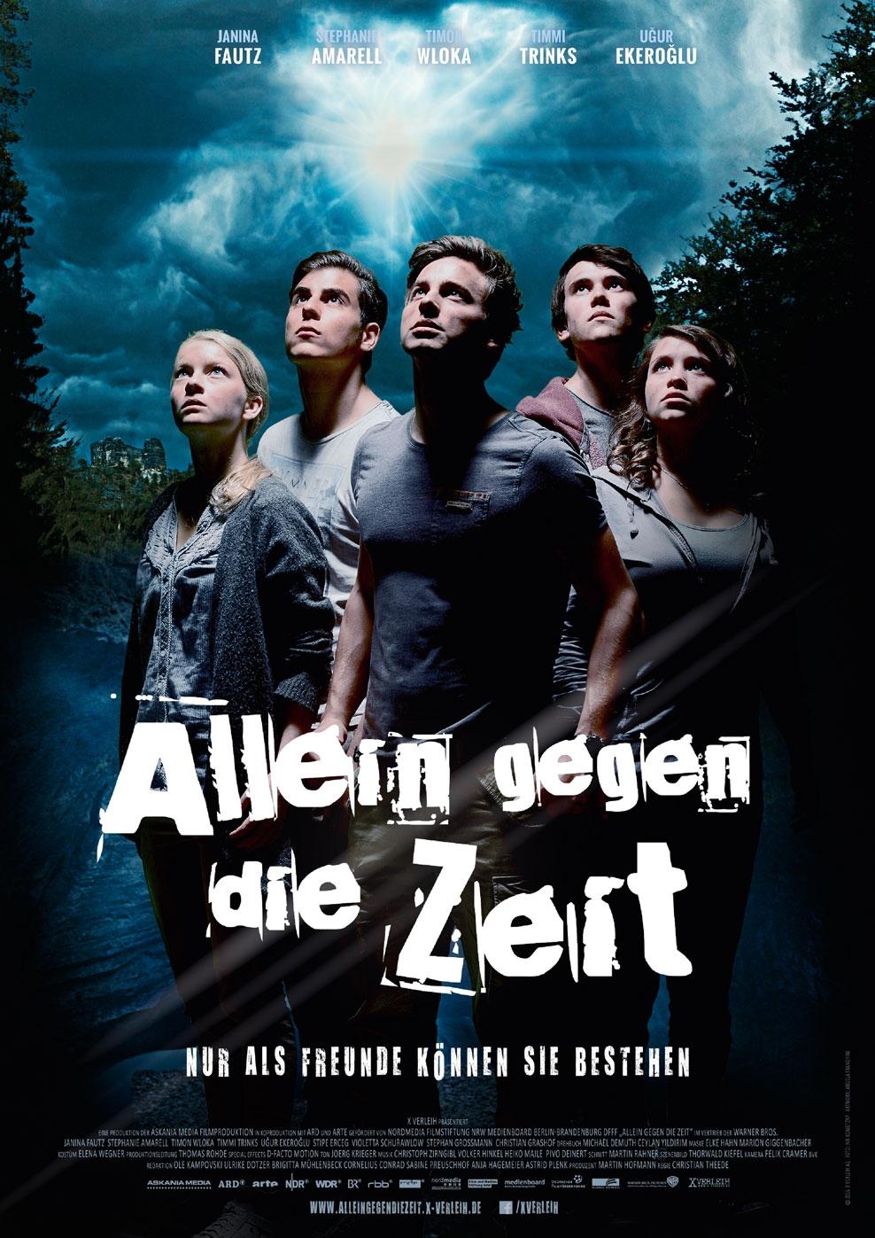 Allein gegen die Zeit (Poster)
