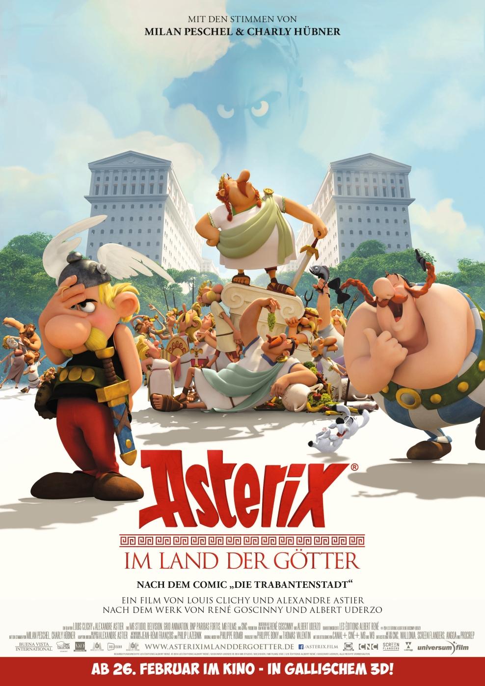 Asterix im Land der Götter (Poster)