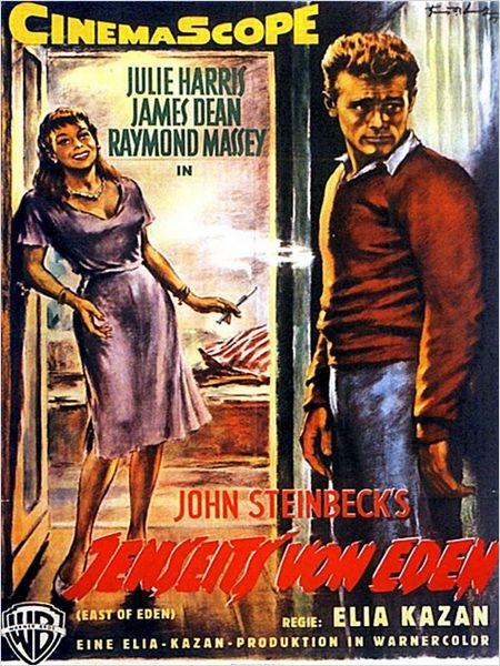 Jenseits von Eden (Poster)