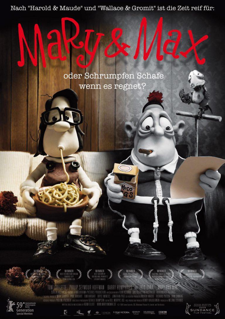 Mary & Max - oder schrumpfen Schafe, wenn es regnet? (Poster)