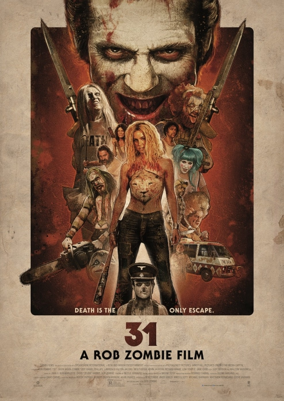 31 - A Rob Zombie Film (Poster)