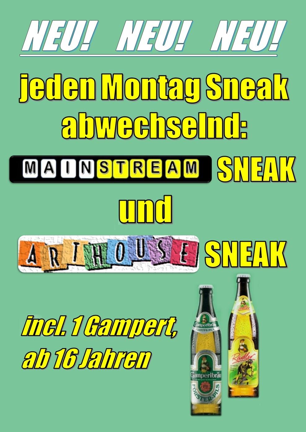Arthouse Sneak (Poster)