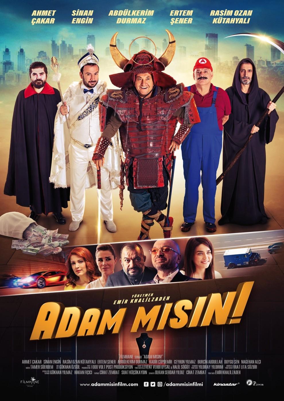 Adam misin! (Poster)