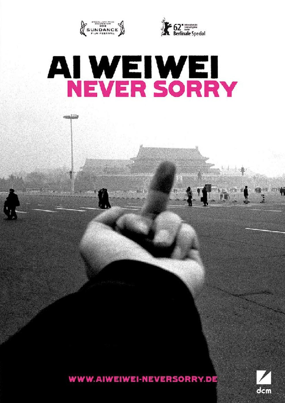 Ai Weiwei - Never Sorry (Poster)