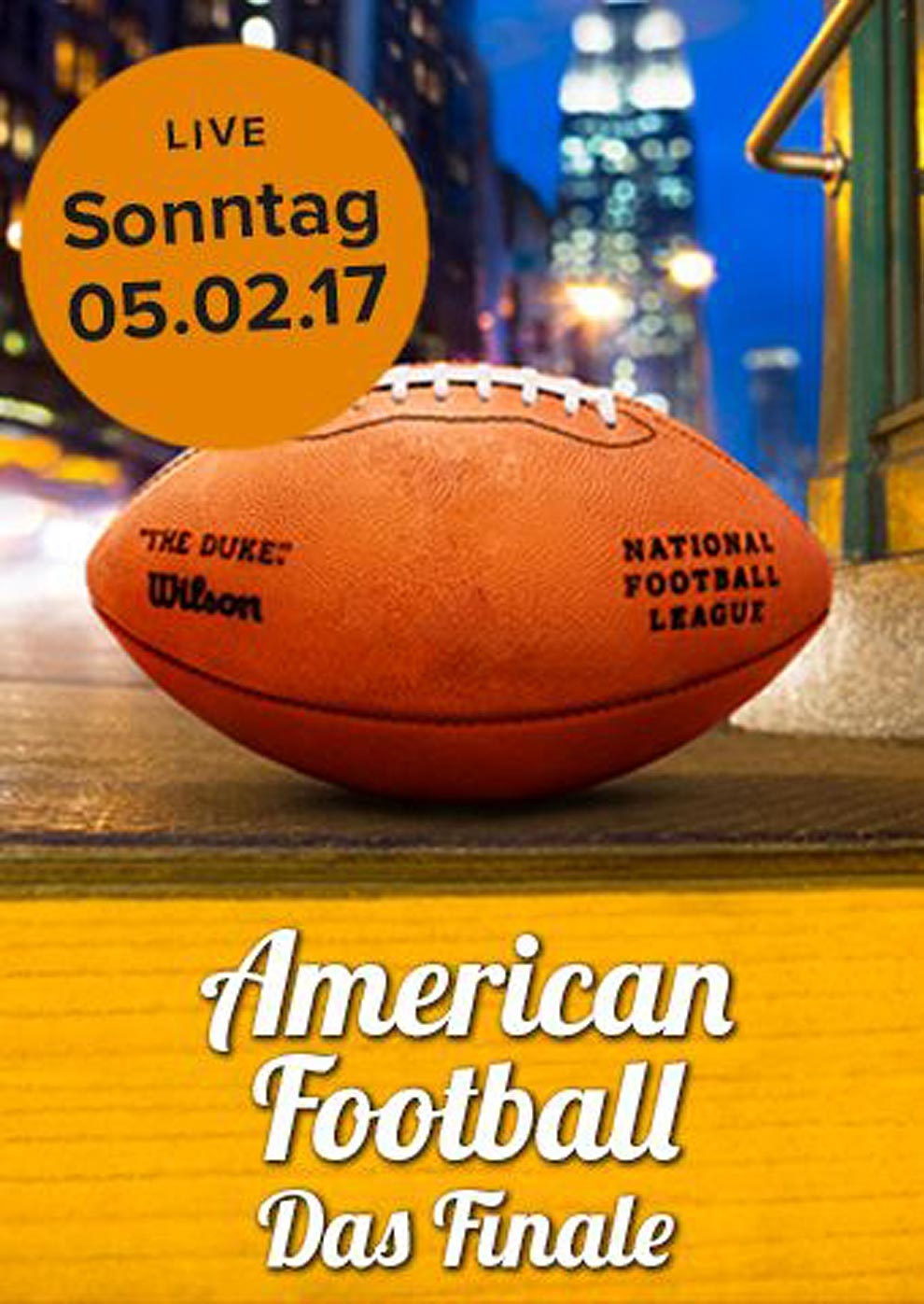 American Football LIVE (Poster)