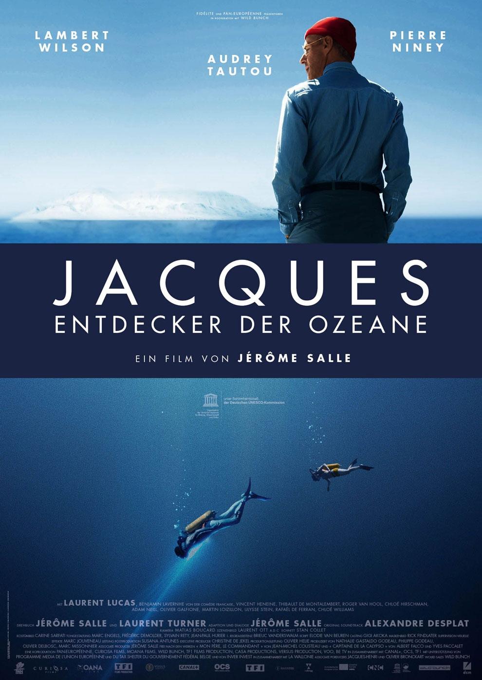 Jacques - Entdecker der Ozeane (Poster)