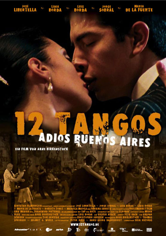 12 Tangos - Adios Buenos Aires (Poster)
