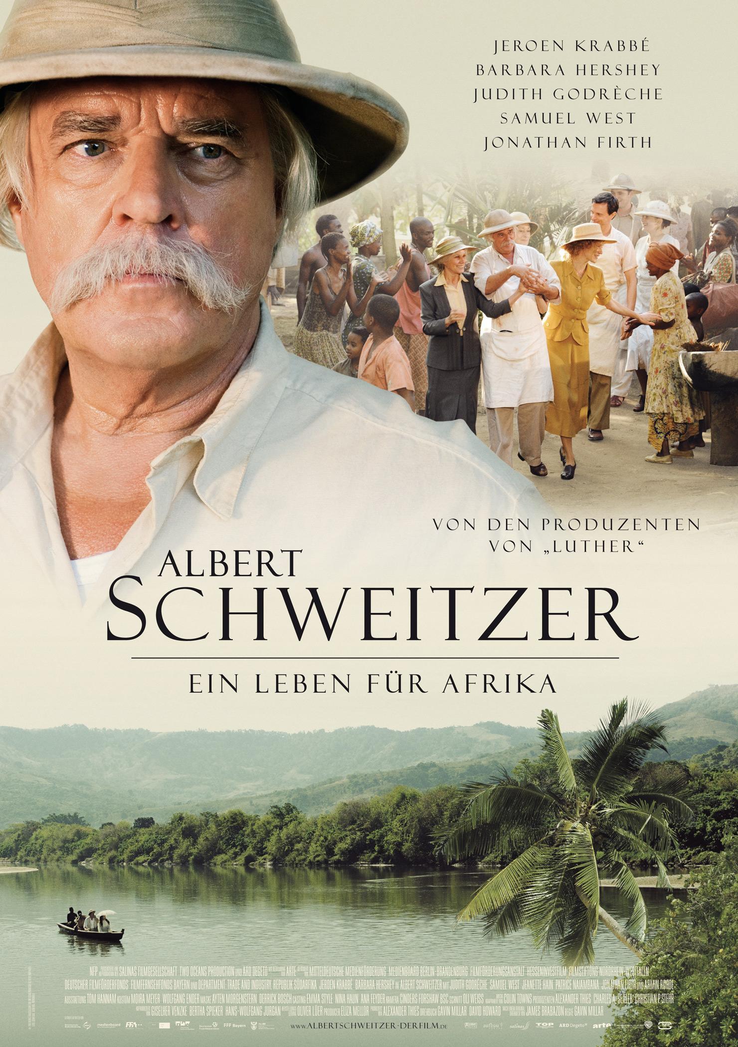 Albert Schweitzer - Ein Leben für Afrika (Poster)