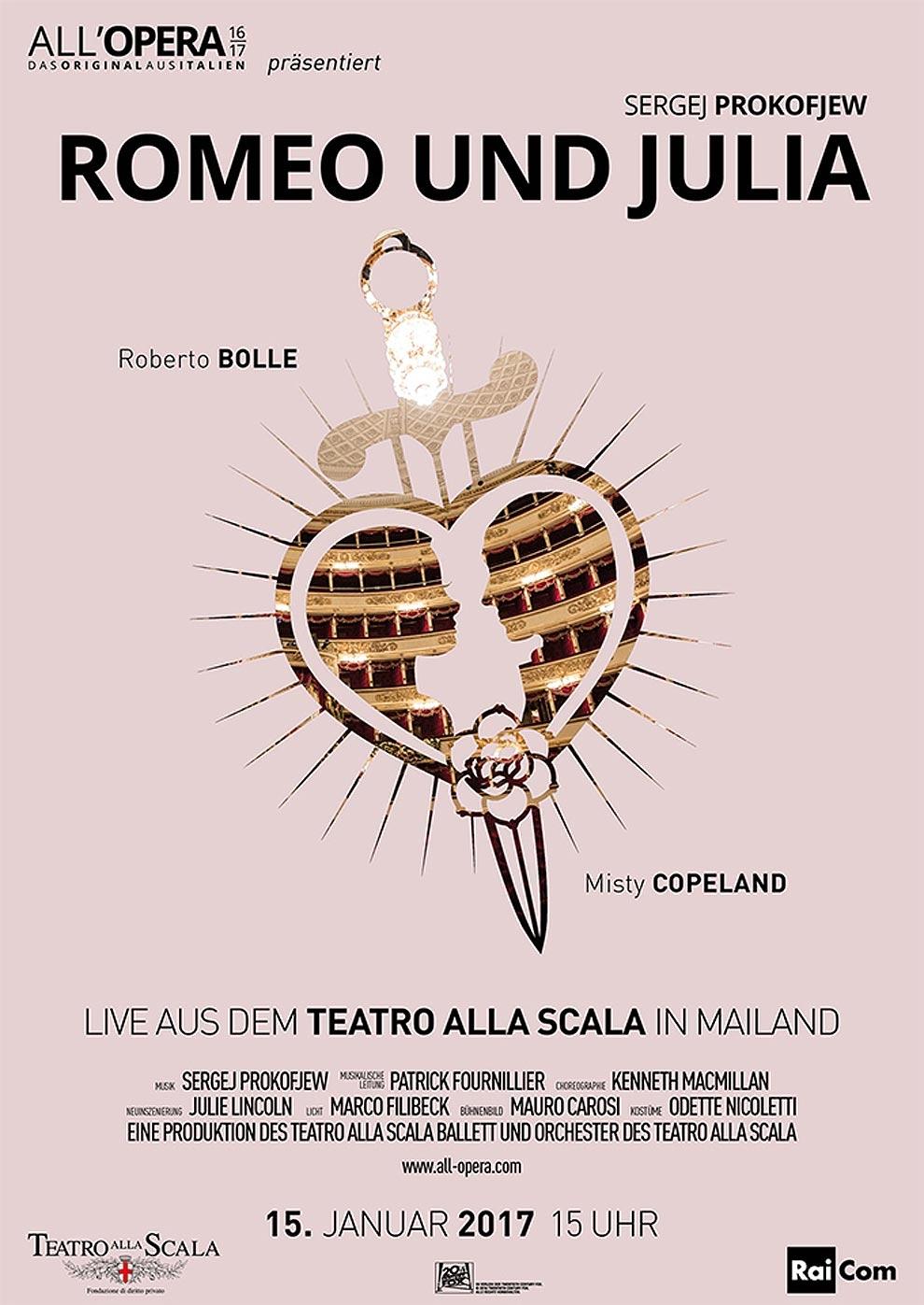 All' Opera 16/17: Romeo und Julia (Aufzeichnung) (Poster)