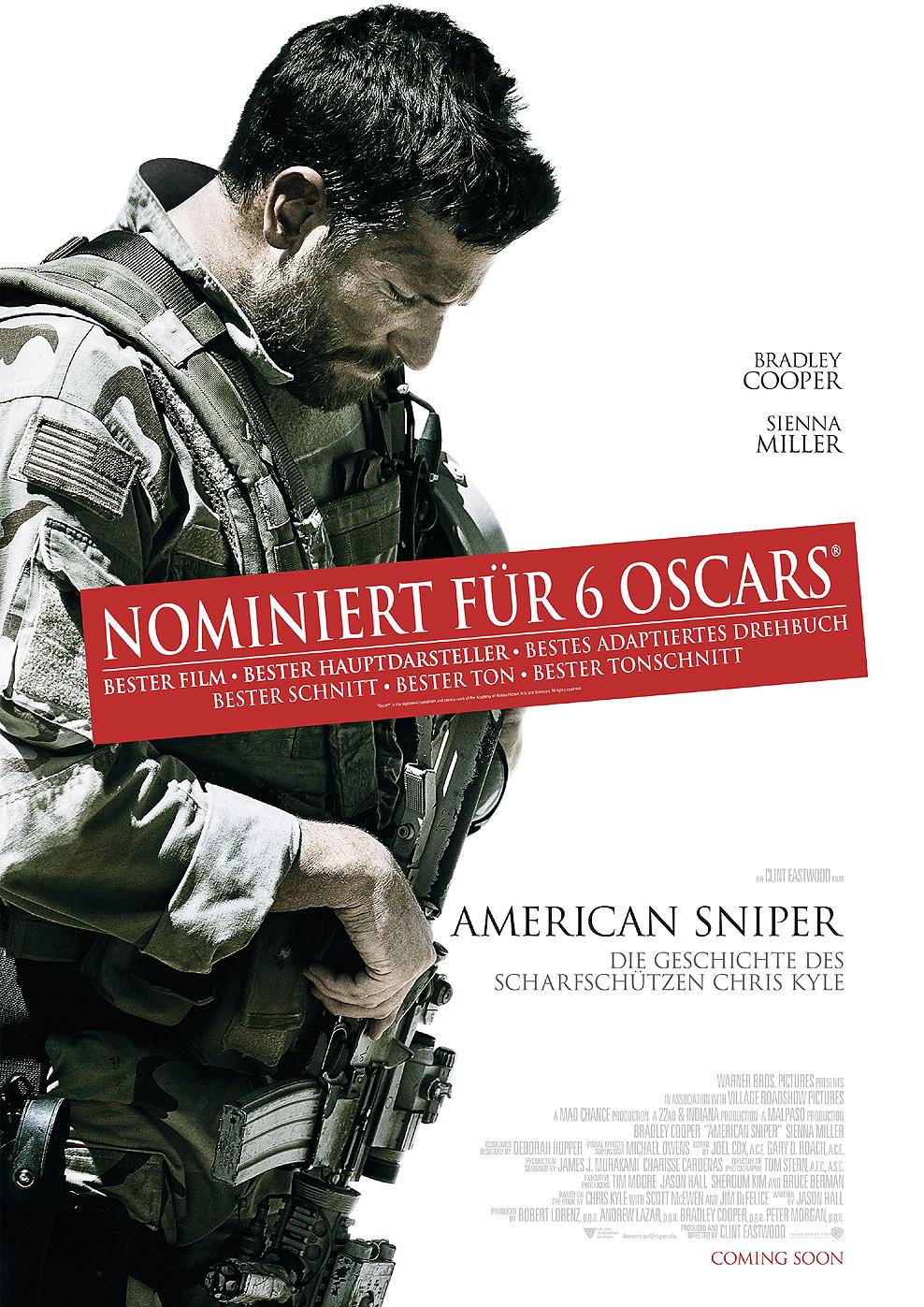 American Sniper - Die Geschichte des Scharfschützen Chris Kyle (Poster)