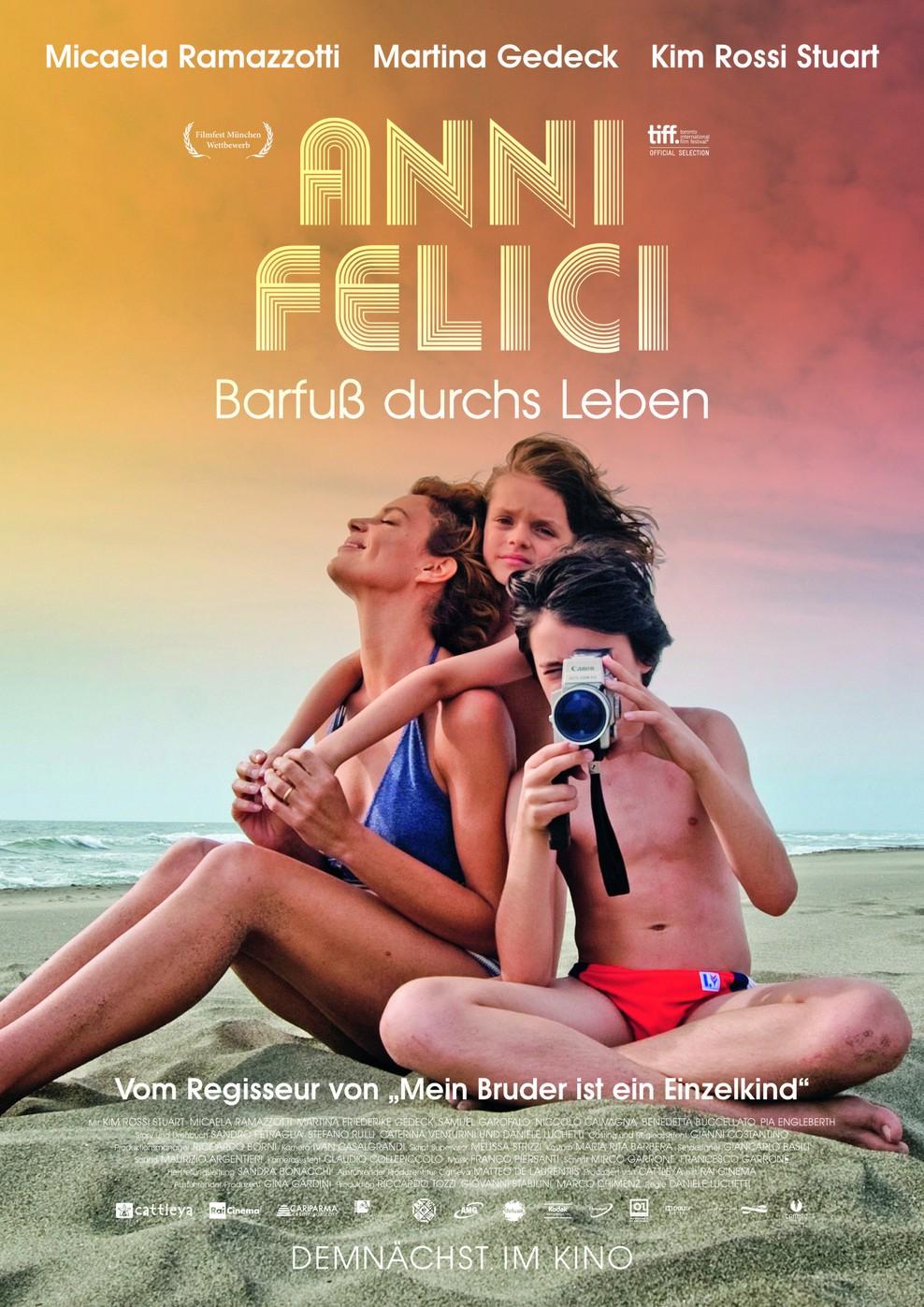 Anni Felici - Barfuß durchs Leben (Poster)
