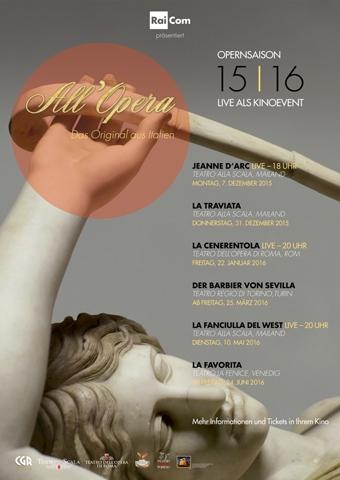 All Opera 2015/2016: La Fanciulla del West (Puccini) - La Scala (Poster)