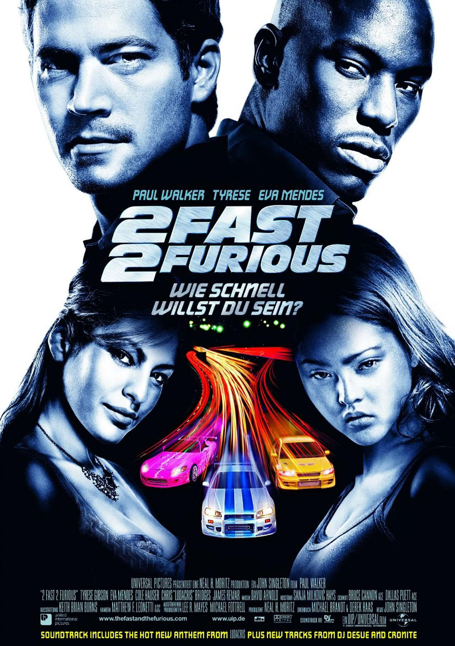 2 Fast 2 Furious (Poster)