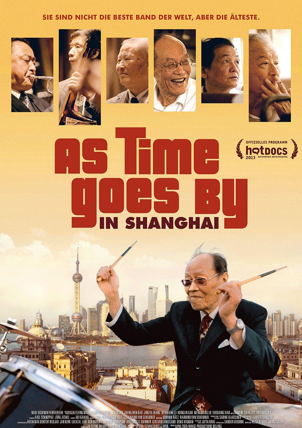 As Time goes by in Shanghai (Poster)