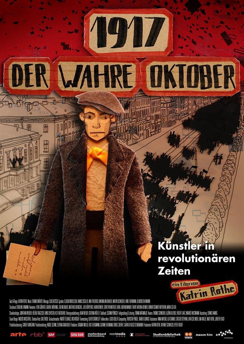 1917 - Der wahre Oktober (Poster)