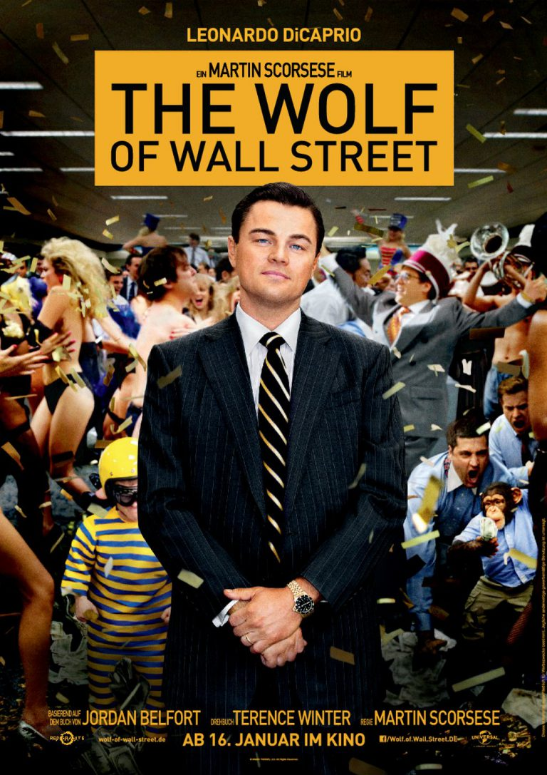 The Wolf of Wall Street (Poster)