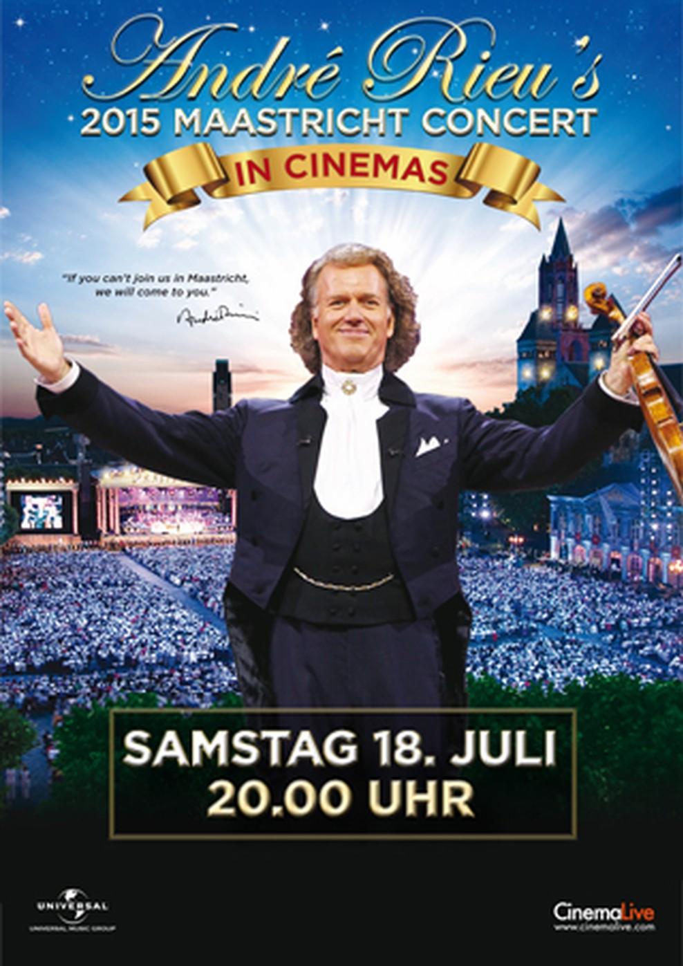 Andre Rieu's Maastricht Concert 2015 (Poster)