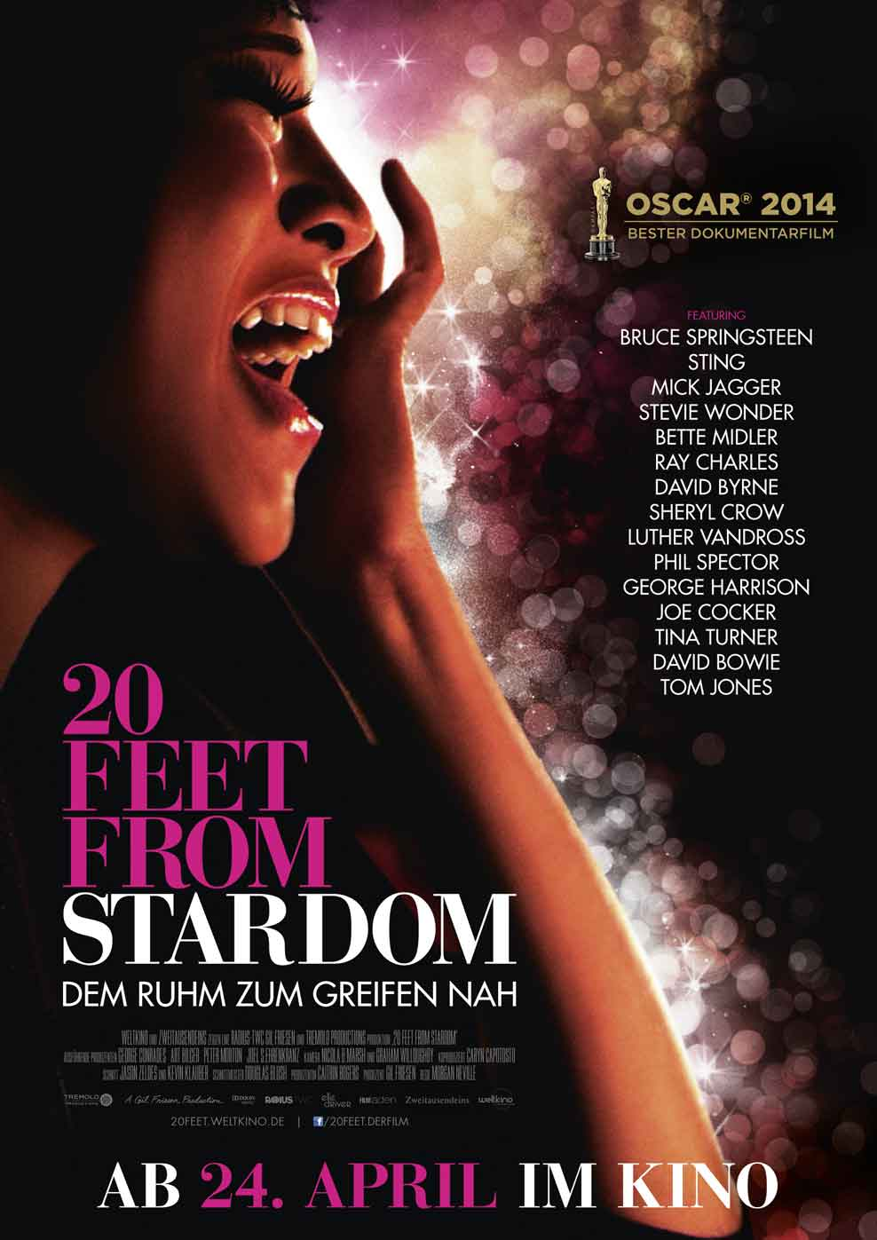 20 Feet From Stardom (Poster)