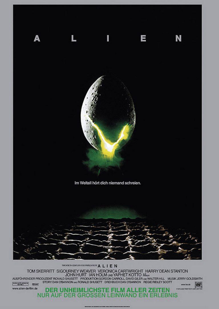 Alien - Das unheimliche Wesen aus einer fremden Welt (1979) (Poster)