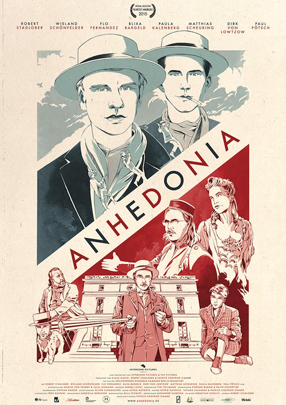 Anhedonia - Narzissmus als Narkose (Poster)