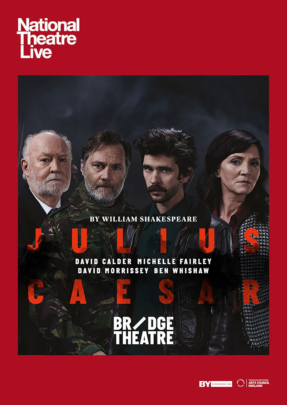 National Theatre London: Julius Caesar (Poster)