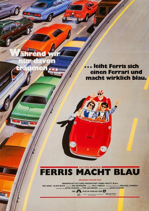 Ferris macht blau (Poster)