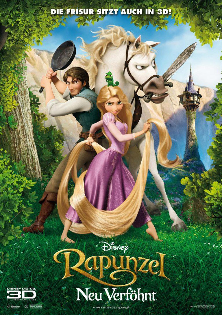 Rapunzel - Neu verföhnt (Poster)